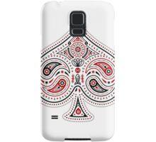 Spades (Red & Black) Samsung Galaxy Case/Skin