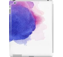Abstract watercolor art hand paint on white background iPad Case/Skin