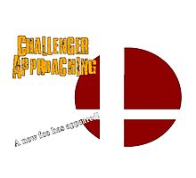 Challenger Approaching - Super Smash Bros. Photographic Print