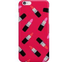 Mac Lipsticks Phone Cover Red iPhone Case/Skin