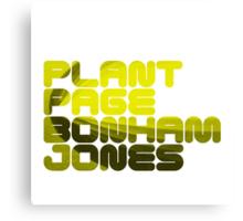 Plant Page Bonham Jones Canvas Print