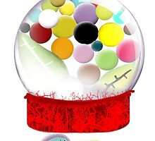 Too sweet candy bird old style bubble gum by rupydetequila