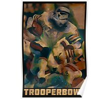 Retro Trooper Bowl One  Poster