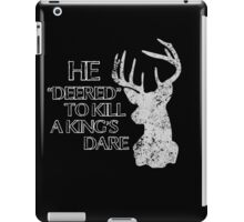 Dare Me iPad Case/Skin
