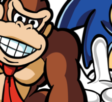 Boosted DK and Sonic Sticker