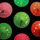 Umbrellas in the Night Sky  by heatherfriedman