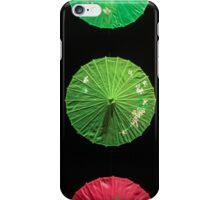 Umbrellas in the Night Sky  iPhone Case/Skin