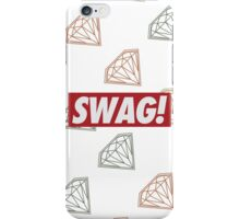 SWAG - iPhone Case WHITE iPhone Case/Skin
