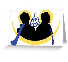 Sherlock and Moriarty - I am You Greeting Card