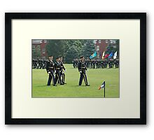 US Army 3d Infantry Regiment - The OLD GUARD - Pass in Review Framed Print