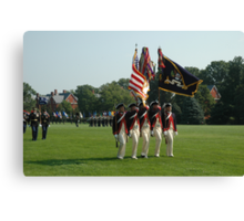 US Army 3d Infantry Regiment - Continental Color Guard Canvas Print