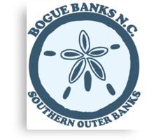 Bogue Banks- North Carolina. Canvas Print
