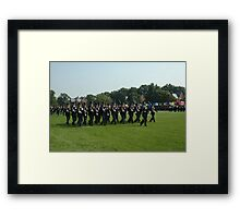 US ARMY 3d Infantry Regiment - The OLD GUARD - Troops Pass in Review Framed Print