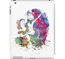 Beauty and the Beast Belle Disney Princess Watercolor iPad Case/Skin