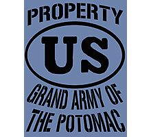 Property Grand Army of The Potomac Photographic Print