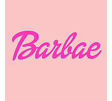 Barbae Photographic Print