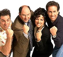 Seinfeld Cast by DavidFakner