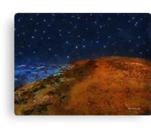 Star-Studded Seacoast Canvas Print