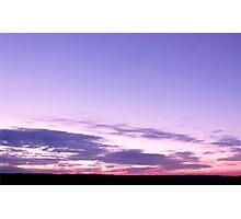 Hogsback Sunset Photographic Print