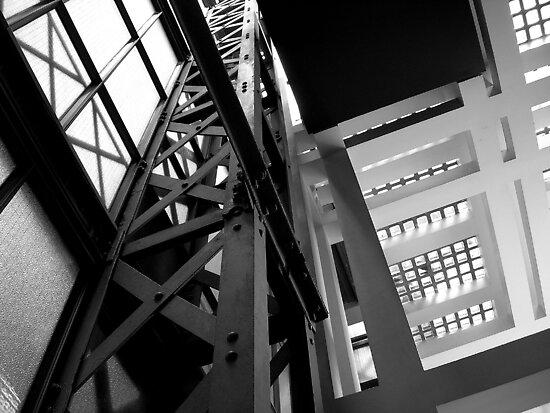 The Elevator Shaft by Christine Leman
