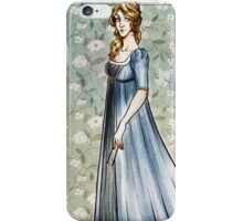 Lady in dress iPhone Case/Skin