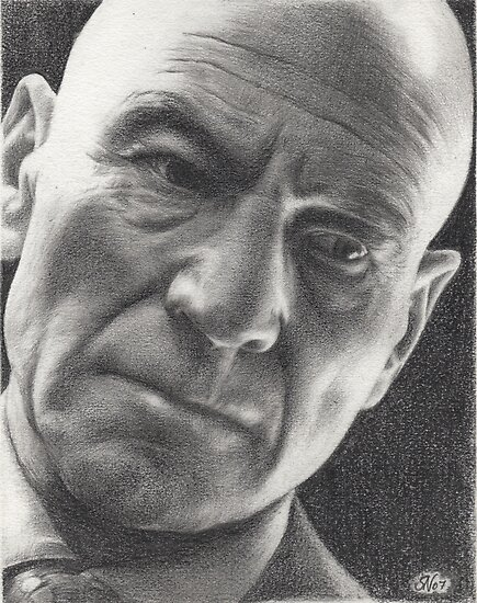 X-men Professor Charles Xavier by Samantha Norbury