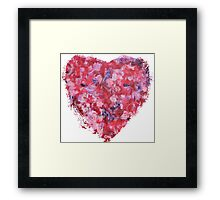 Wild and Unruly - Heart II Framed Print