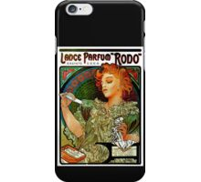 'Lance Parfum' by Alphonse Mucha (Reproduction) iPhone Case/Skin