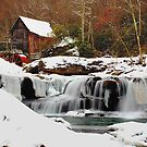 Frozen Grist Mill by Jason Vickers