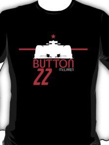 Jenson Button 2015 - White T-Shirt