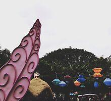 Disneyland'a Tea Cups  by whitneymicaela