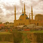 beirut mosque by Sugarpop