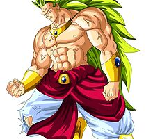 Broly SS V1 by LouisCera