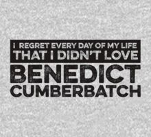 Regret Every Day - Benedict Cumberbatch by huckblade