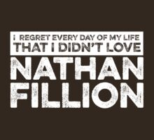 Regret Every Day - Nathan Fillion (Variant) by huckblade
