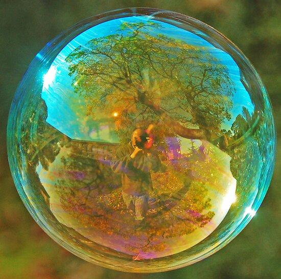 Blue Bubble by Richard Heeks