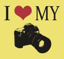I Love My Camera ll by Sharon Stevens