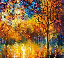 London, Saint James Park (Part 2 of 2) — Buy Now Link - www.etsy.com/listing/224491225 by Leonid  Afremov