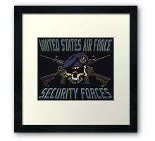 USAF Security Forces Framed Print