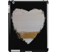 standing in the light of your halo - abstract heart II iPad Case/Skin
