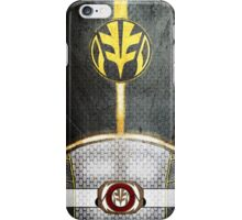 WhiteRanger3 iPhone Case/Skin