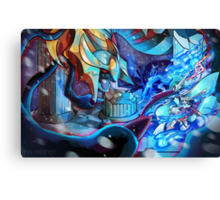 GIRATINA EMERGES! MEGA EVOLUTION GALLADE! Canvas Print