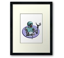 2-1b Sings! Framed Print