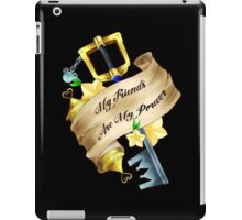 My Friends Are My Power iPad Case/Skin