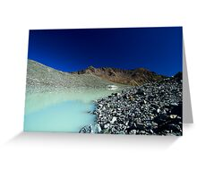 Arsine lake Greeting Card
