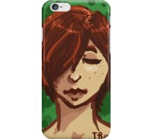 Tranquil Green iPhone Case/Skin