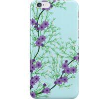 Little Purple Flowers iPhone Case/Skin