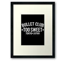 Too Sweet Framed Print