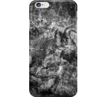 When The Stars Are Right - The Crab Nebula in Taurus (black & white version) iPhone Case/Skin
