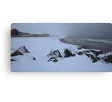 Snow Beach Long Beach NY IMG_6112 Canvas Print
